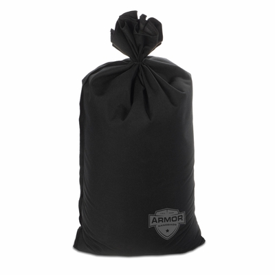 Mini Sandbag, Heavy Duty 8x14 Black 100 pk.