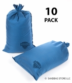 Armor Sandbag, Heavy Duty 14x28 Blue 10 Pack