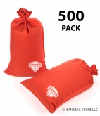 Armor Sandbag, Heavy Duty 14x28 Orange 500 Pack