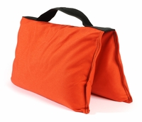 Orange Saddle Sandbags