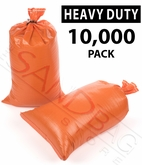 Poly Sandbag Heavy Duty Orange 10,000 pk.