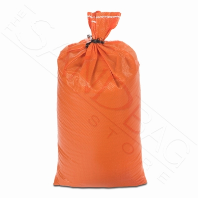 Poly Sandbag, Heavy Duty Orange 1,000 pk.