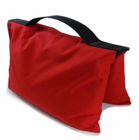 Red Saddle Sandbags