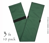 "Tube Sandbag™  36"" Green 10 pk."