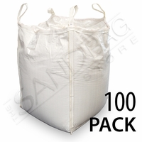 Bulk Bag (FIBC) Empty 3000 lb Capacity - 100 Pack