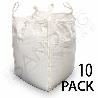 Bulk Bag (FIBC) Empty 3000 lb Capacity - 10 Pack