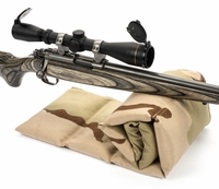 The Grouper™ Bench Rest Sandbag, Desert Camo