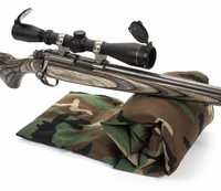 The Grouper™ Bench Rest Sandbag, Woodland Camo