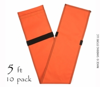"Tube Sandbag™ 60"" Orange 10 pk."