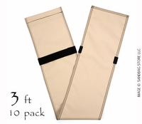 "Tube Sandbags™ 36"" Tan 10 pk."