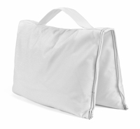 White Saddle Sandbags