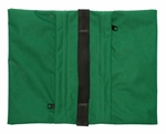 Zippered Saddle Sandbag, Empty 15-25 lb Capacity