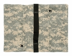 Zippered Saddle Sandbag, Empty 15-25 lb Capacity ACU Camo