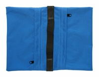 Zippered Saddle Sandbag, Empty 15-25 lb Capacity Blue