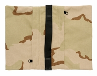 Zippered Saddle Sandbag, Empty 15-25 lb Capacity Desert Camo