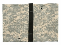 Zippered Saddle Sandbag, Empty 30-40 lb Capacity ACU Camo