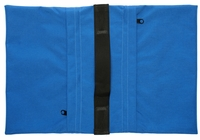 Zippered Saddle Sandbag, Empty 30-40 lb Capacity Blue