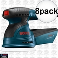 "Bosch Tools ROS20VSC-RT 8pk 5"" VS Palm Random Orbit Sander Kit w/ Canvas Bag"
