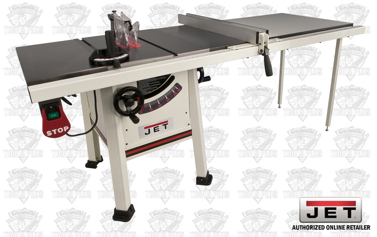 Jet 708495k 10 proshop tablesaw plus 52 fence cast iron for 52 table saw fence