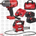 Milwaukee 2767-22GG M18 Fuel High Torque Impact Wrench w/ Grease Gun