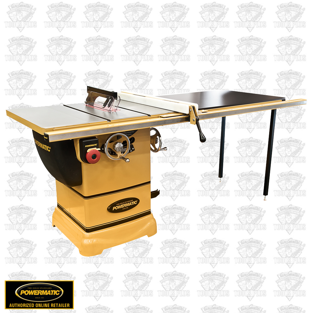 Powermatic 1791001k model pm1000 1 3 4hp 1ph table saw for 52 table saw fence