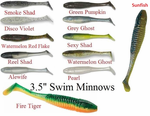 "120 - 3.5"" Swim Minnow"