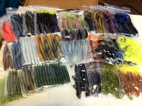 30Pks Bass Lures