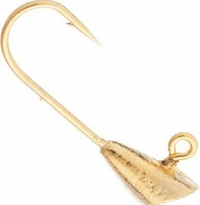 Gold Plated Shad Dart Jig