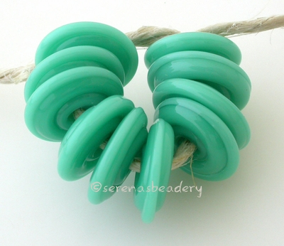 Jade Palace Wavy Disk Spacer