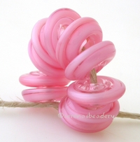 Mystic Pink Wavy Disk Spacer