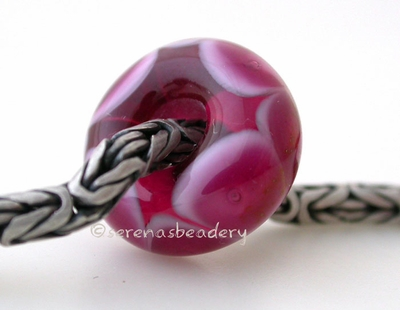Pink Lady Rubino Bubble European Charm Bead