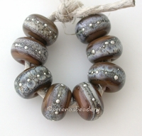 Tamarind Granite with Fine Silver