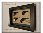 Marksman Series Pistol Display Case
