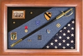 Military Medals Shadow Box Display Case
