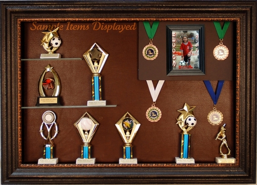 Medal Display Case Sports award and medal cases Award Display Case