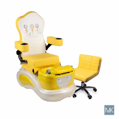 Yellow Best Friend Kid Pedicure Spa