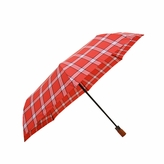 London Fog 931 Red Tartan Umbrella