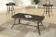 Grey Marble Coffee Table Set