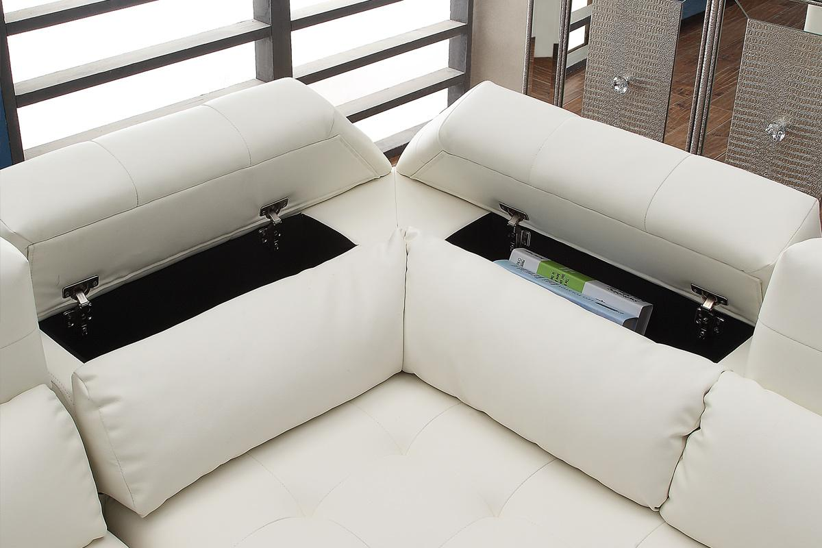 pd faux baxton sectional leather studio selma shop at white modern
