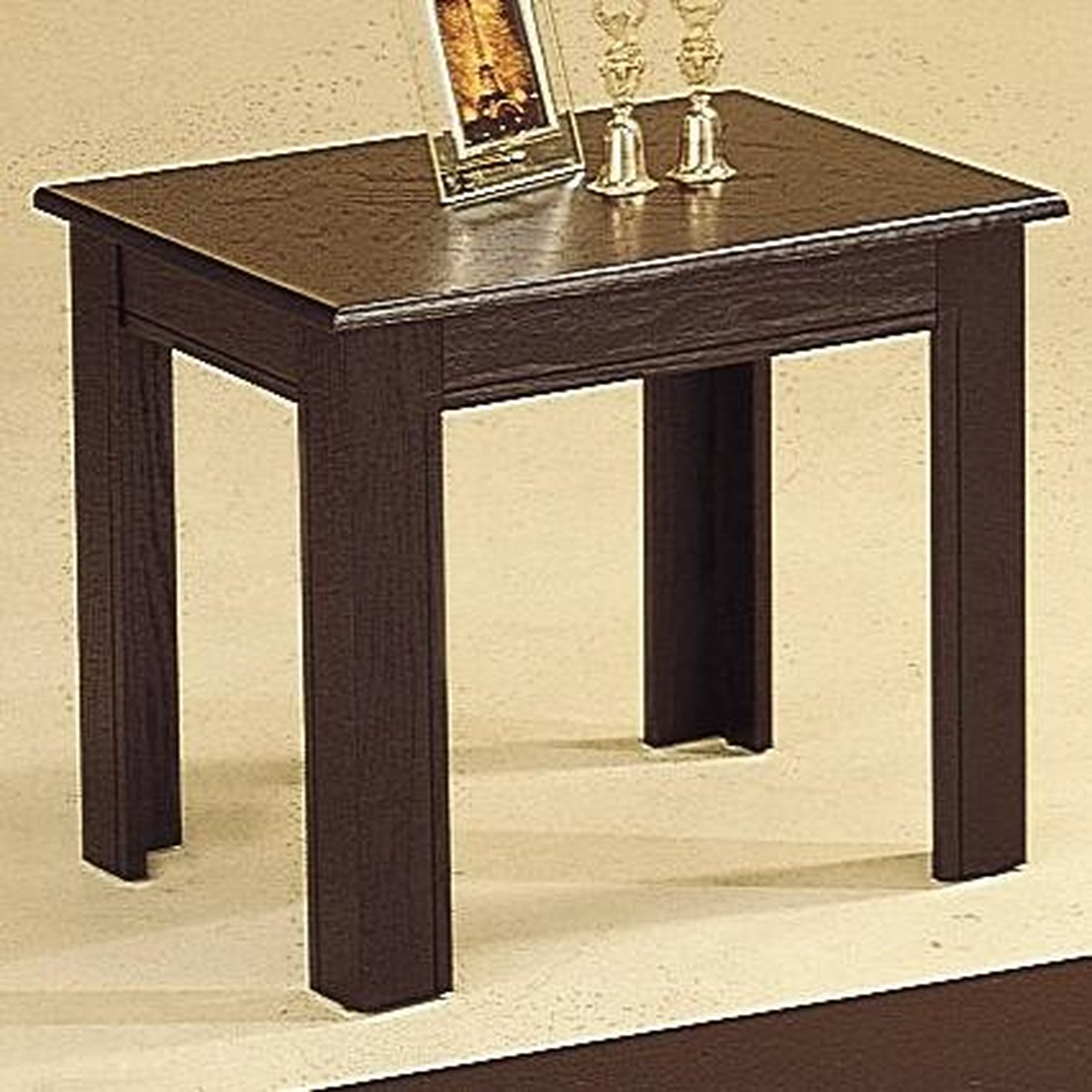 Acosta Black Wood Coffee Table Set Steal A Sofa Furniture Outlet
