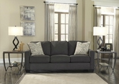 Alenya Grey Fabric Sofa