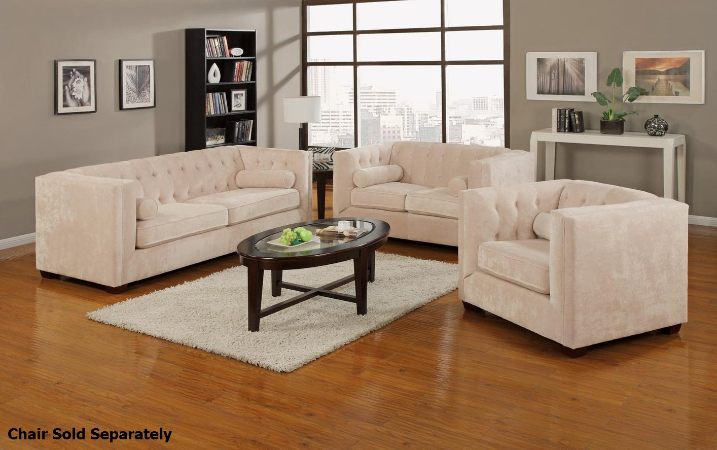 Alexis beige fabric sofa and loveseat set steal a sofa furniture outlet los angeles ca