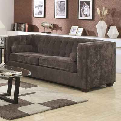 Alexis Grey Fabric Sofa