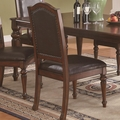 Anson Rich Brown Chairs (Min Qty 2)