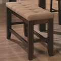 Antoine Walnut Wood Dining Bench