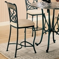 Ardith Brown Metal Pub Stool (Min Qty 2)