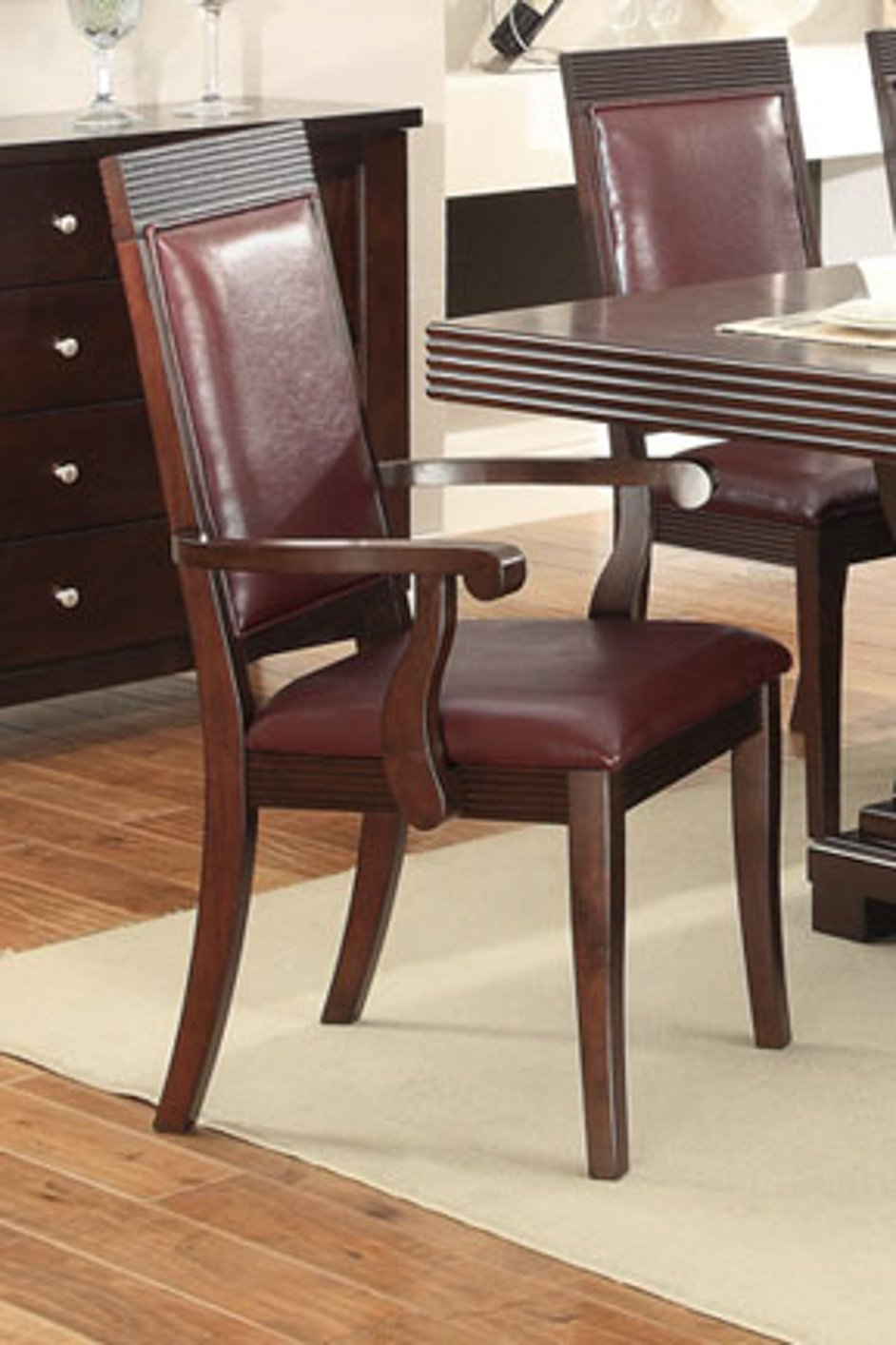 Red Wood Dining Chair Steal A Sofa Furniture Outlet Los