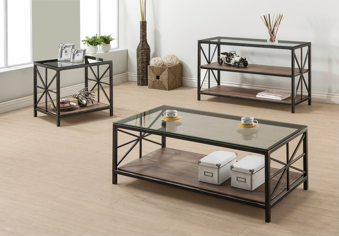 avondale black glass coffee table - steal-a-sofa furniture outlet