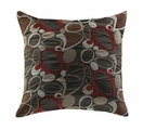 Bachman Brown Fabric Accent Pillow