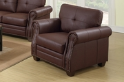 Baron Brown Leather Chair